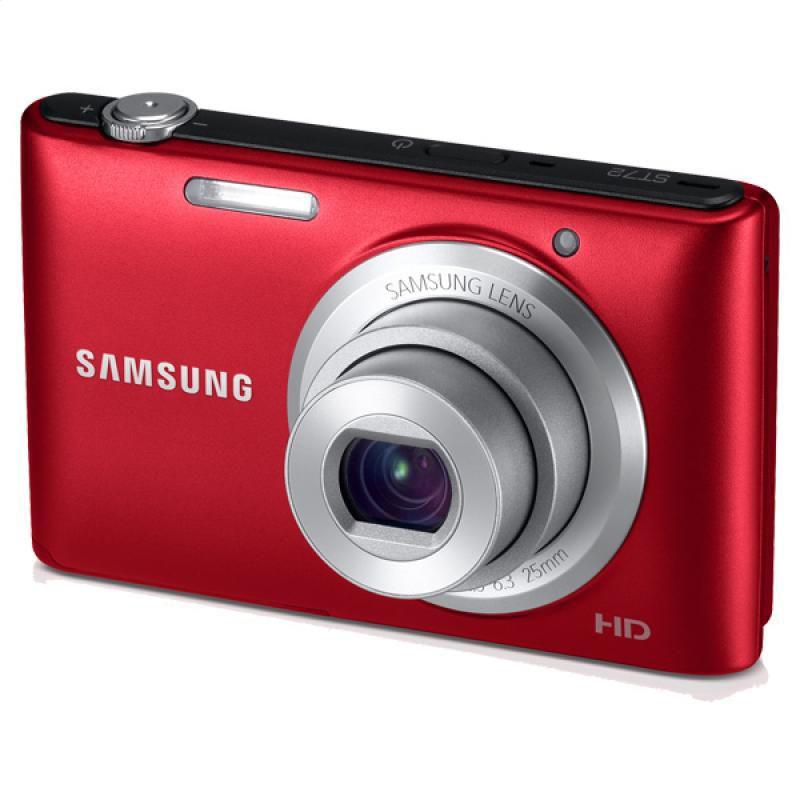 448-416 - Samsung HD 16.2MP 5X Optical Zoom Digital Point & Shoot Camera - Refurbished