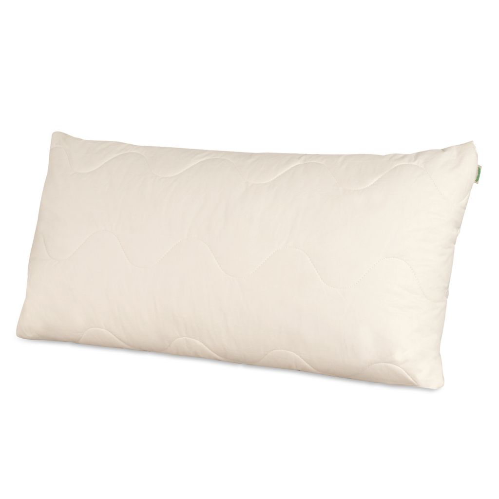 448-421 - Natura 230TC Cotton Wool Lined Latex Core Pillow