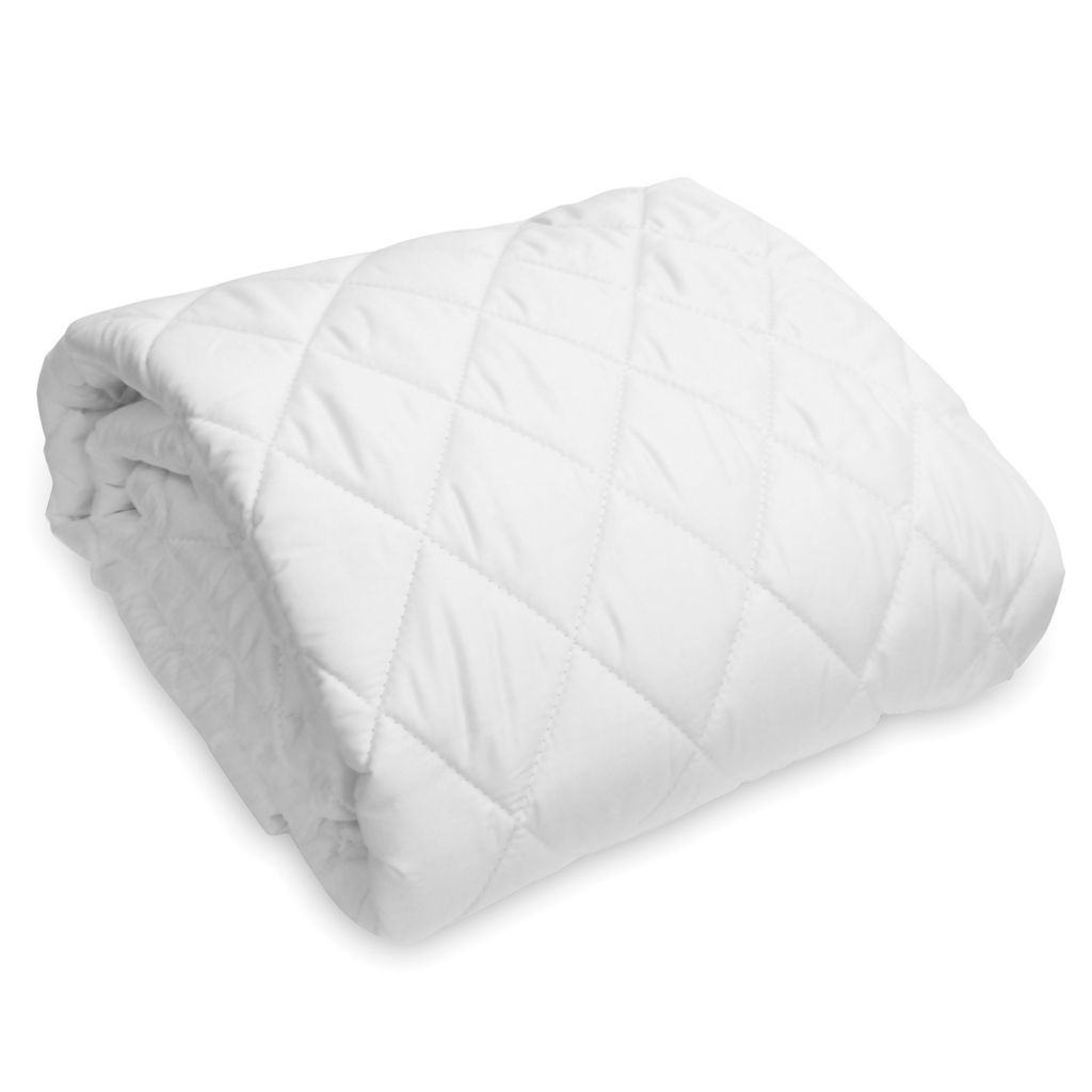 448-423 - Natura 300TC Cotton Washable Wool Filled Mattress Pad