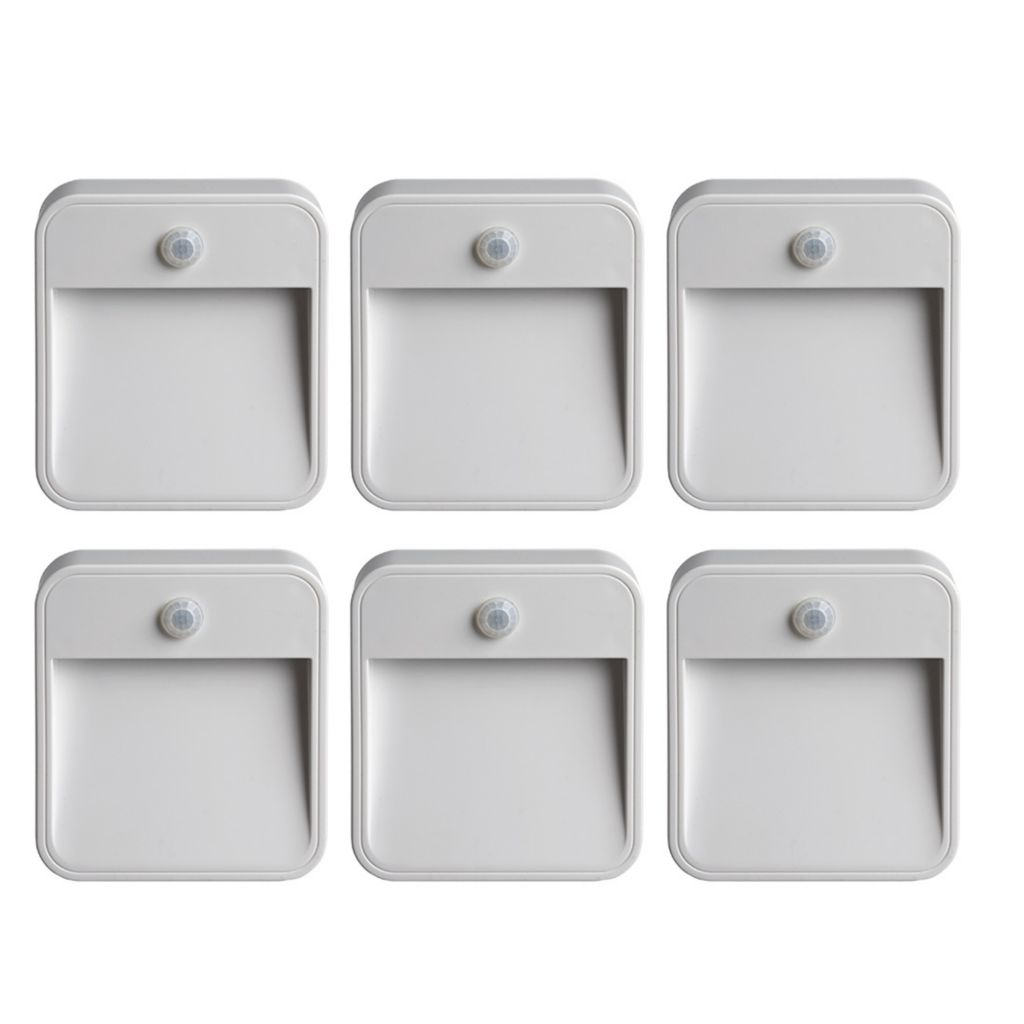 448-548 - Mr Beams™ Six-Pack Wireless Motion Sensing LED Stick Anywhere Night Lights