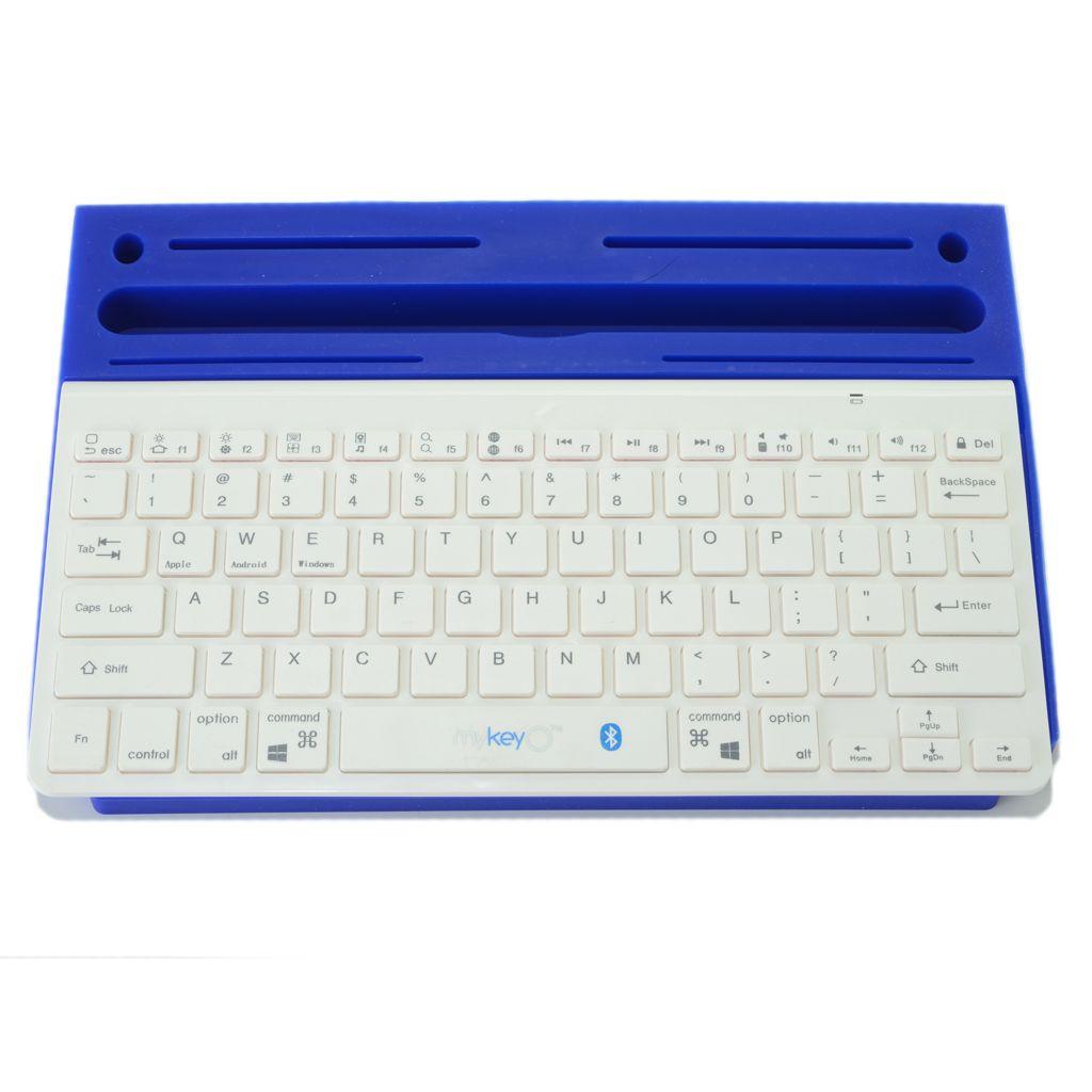 448-582 - myKeyO Bluetooth® Keyboard & Silicone Organization Tray