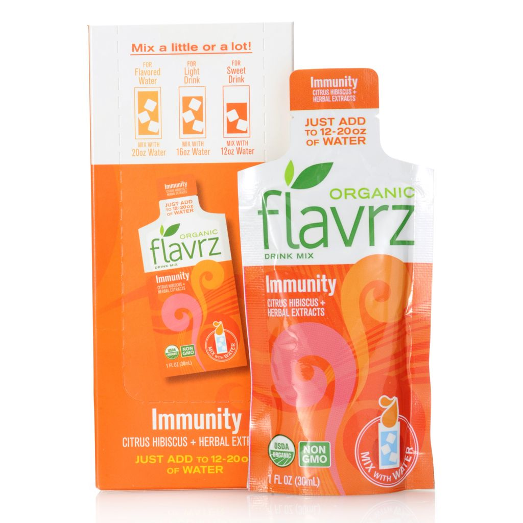 448-673 - Flavrz® Immunity Set of Five Organic Drink Mixes