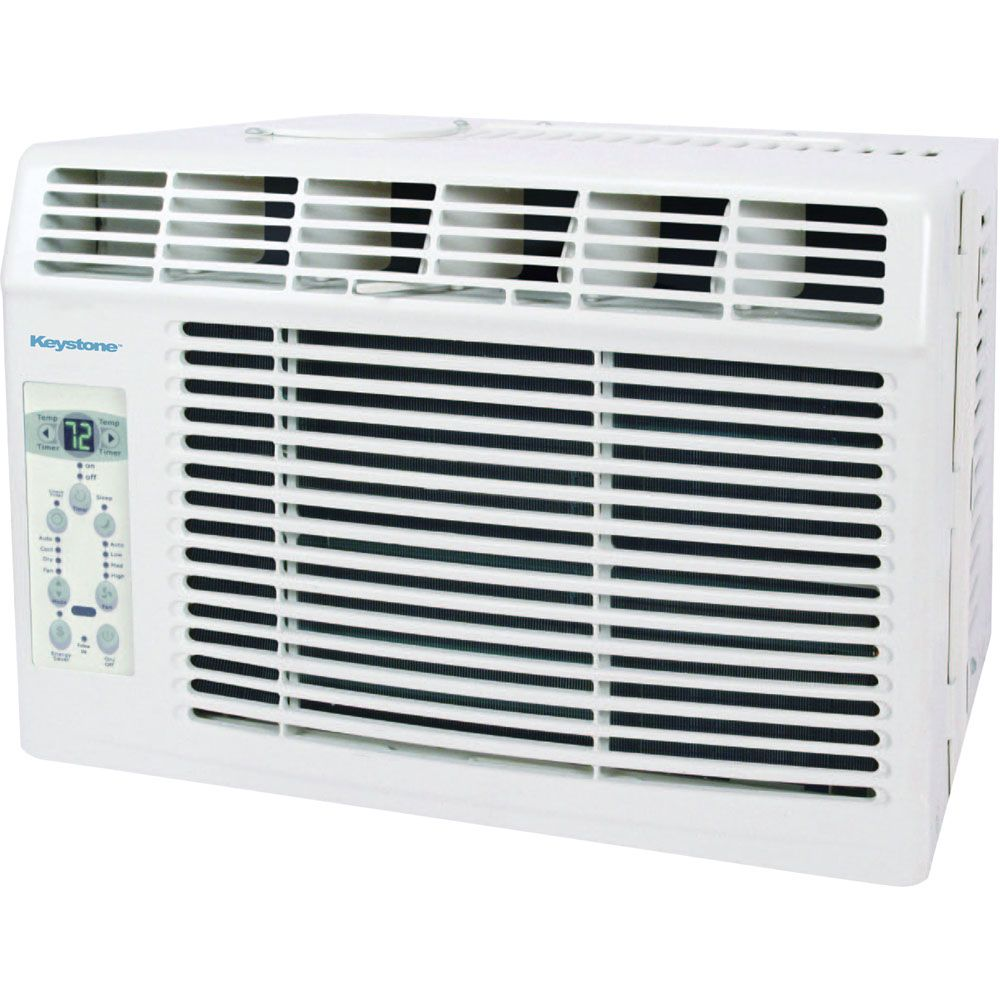 448-780 - Keystone Energy Star 5,000 BTU 115V Window Air Conditioner w/ Remote