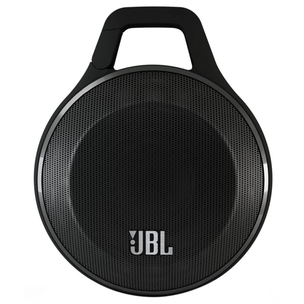 448-800 - JBL Clip Portable Bluetooth® Carabiner Speaker w/ Built-in Speakerphone