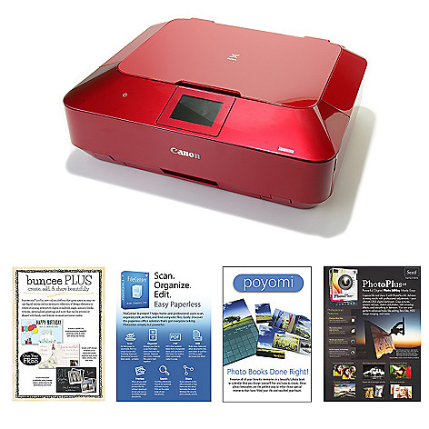 448-801 - Canon PIXMA Wi-Fi Photo All-in-One Printer w/ LCD Display & Creative Downloads Voucher
