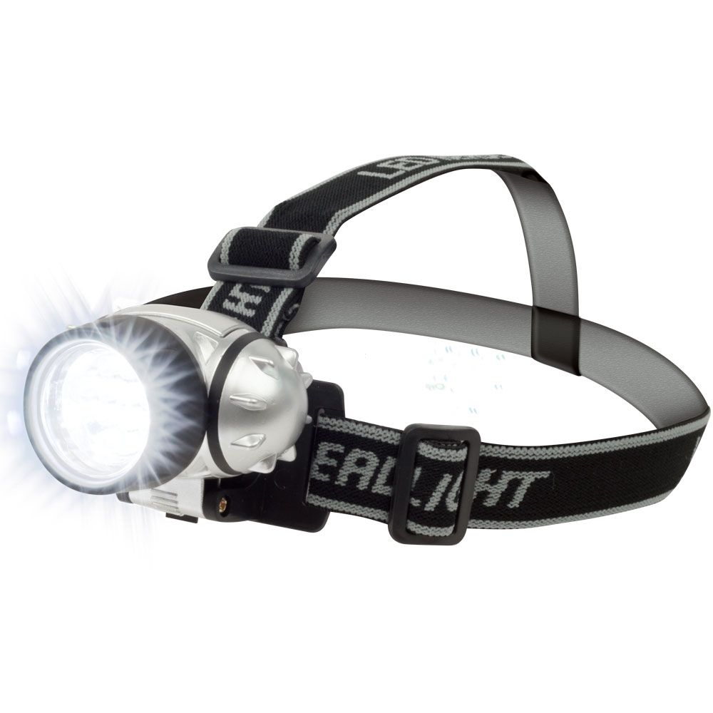 448-806 - Stalwart 12 LED Headlamp w/ Adjustable Strap
