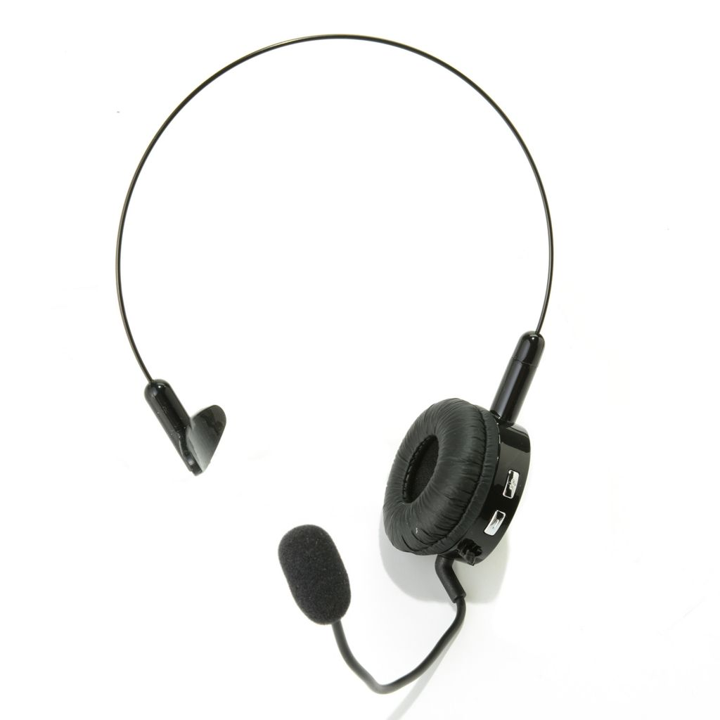 448-835 - Cobra® Lightweight Noise Canceling Bluetooth® Headset w/ One-Touch Control