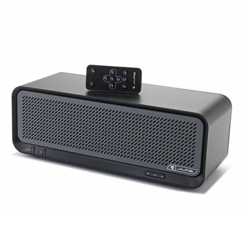 448-882 - JLab Bouncer Bluetooth® Speaker w/ Remote Control & Skinit Offer