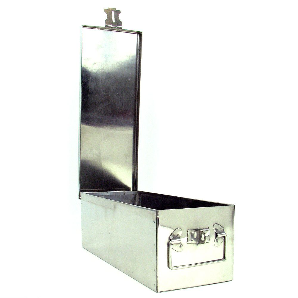 "448-893 - Stalwart 12"" Oversized Aluminum Storage Lock Box"