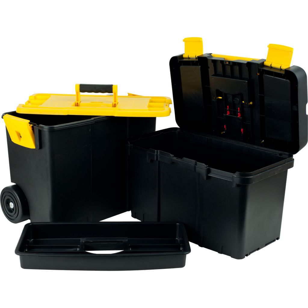 448-903 - Stalwart Stackable Mobile Tool Box w/ Wheels