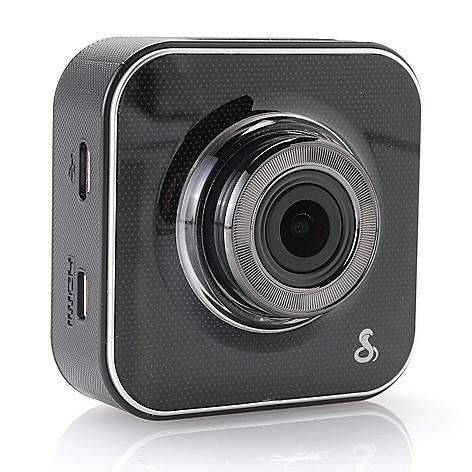 448-926 - Cobra® 2'' LCD Super HD Wide Angle Wi-Fi Dash Cam w/ 8GB MicroSD Card