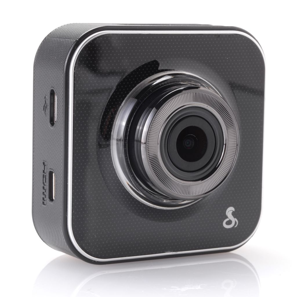 "448-926 - Cobra® 2"" LCD Super HD Wide Angle Wi-Fi Dash Cam w/ 8GB MicroSD Card"