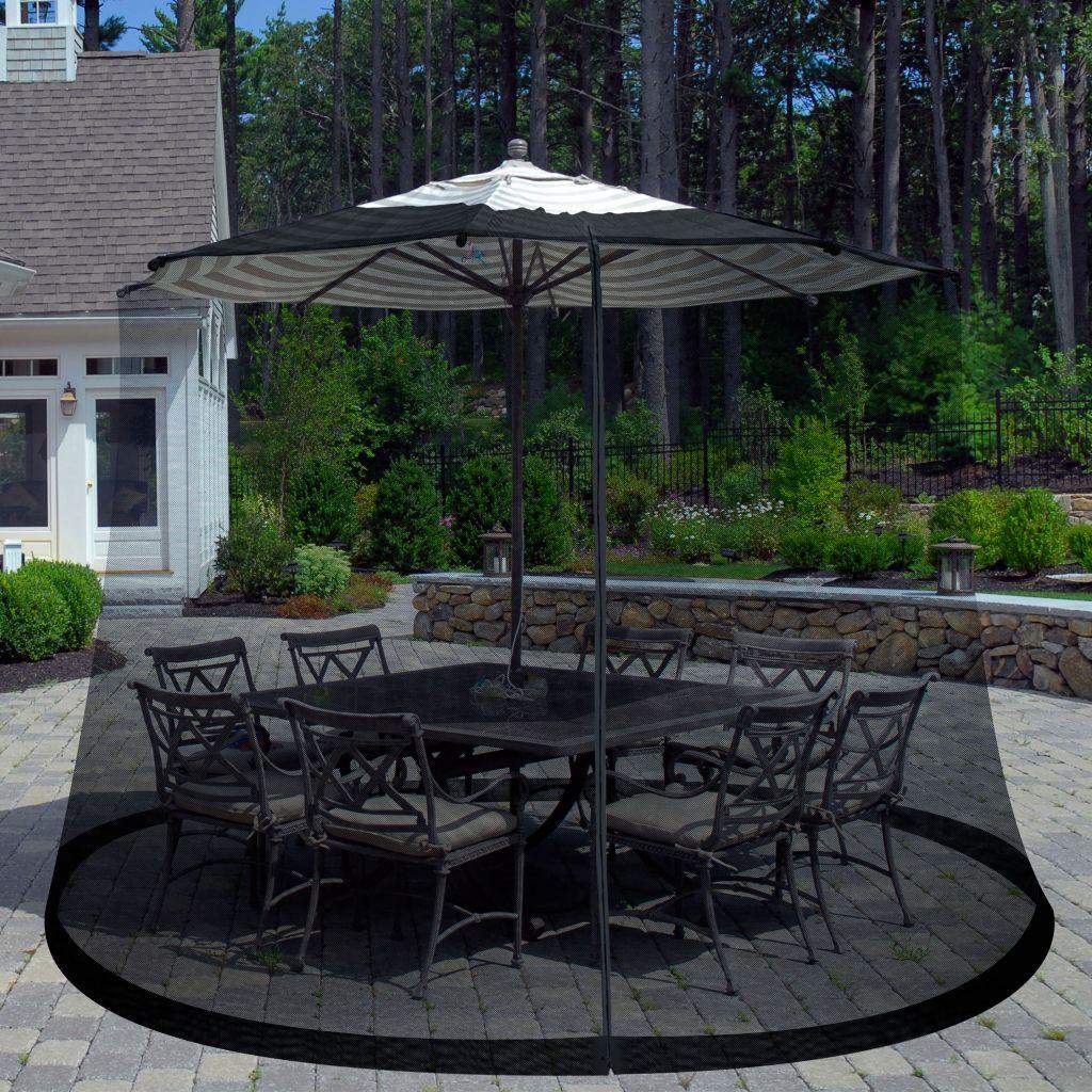 448-988 - Pure Garden Outdoor Umbrella Screen