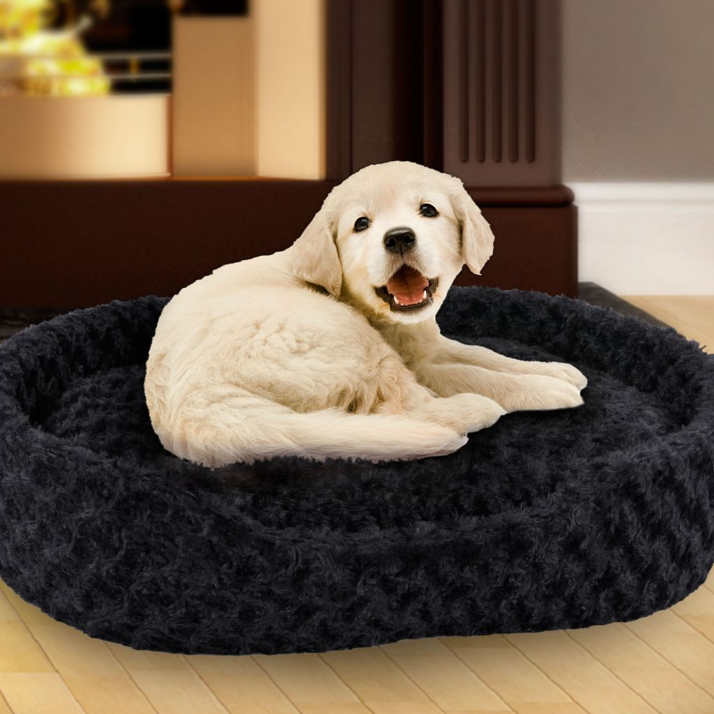 448-989 - PAW Plush Cuddle Round Pet Bed