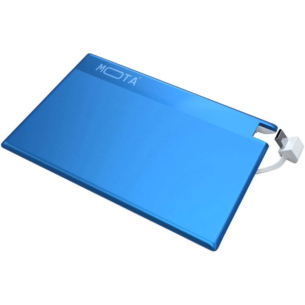 449-034 - MOTA Rechargeable 800mAh Card-Style USB Backup Power Bank