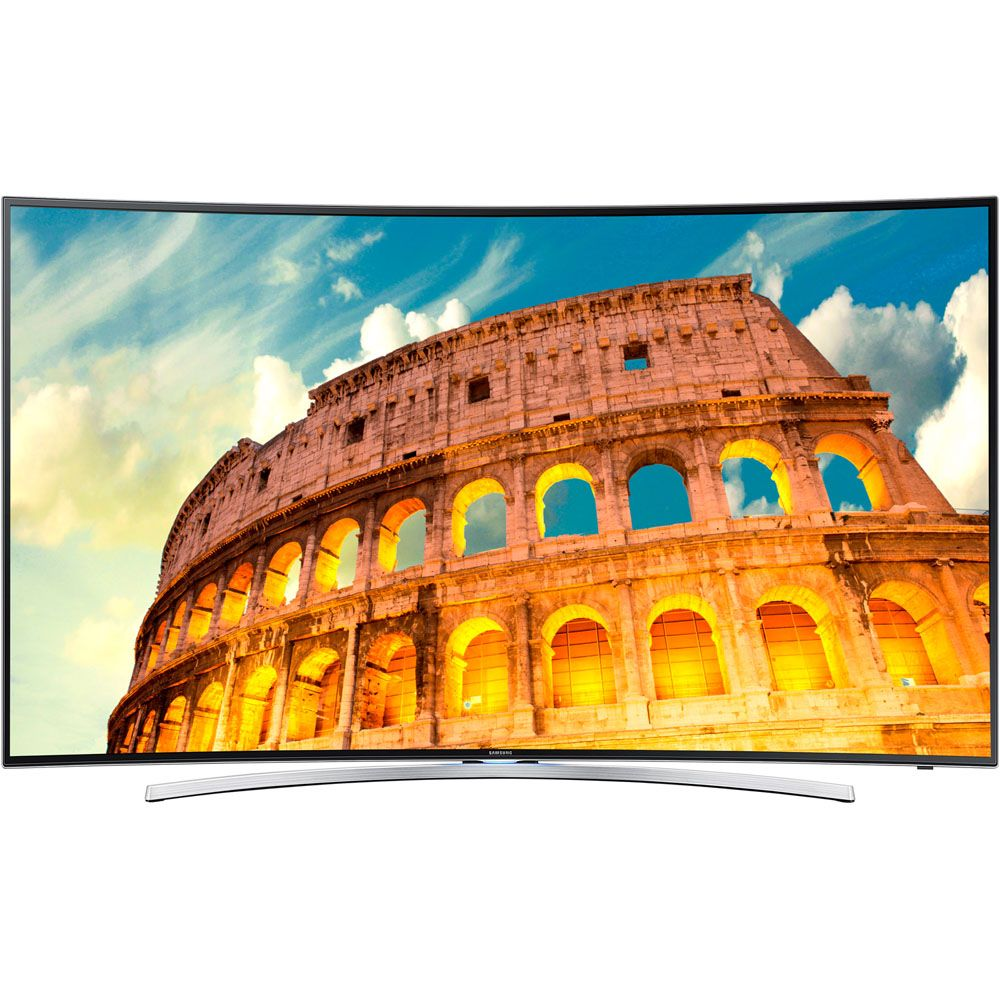 "449-196 - Samsung 55"" 1080p Curved Ultra-Slim 3D Smart LED HDTV"