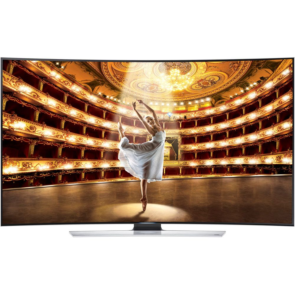 "449-201 - Samsung 55"" 1080p Curved 3D Smart LED Ultra-HDTV"