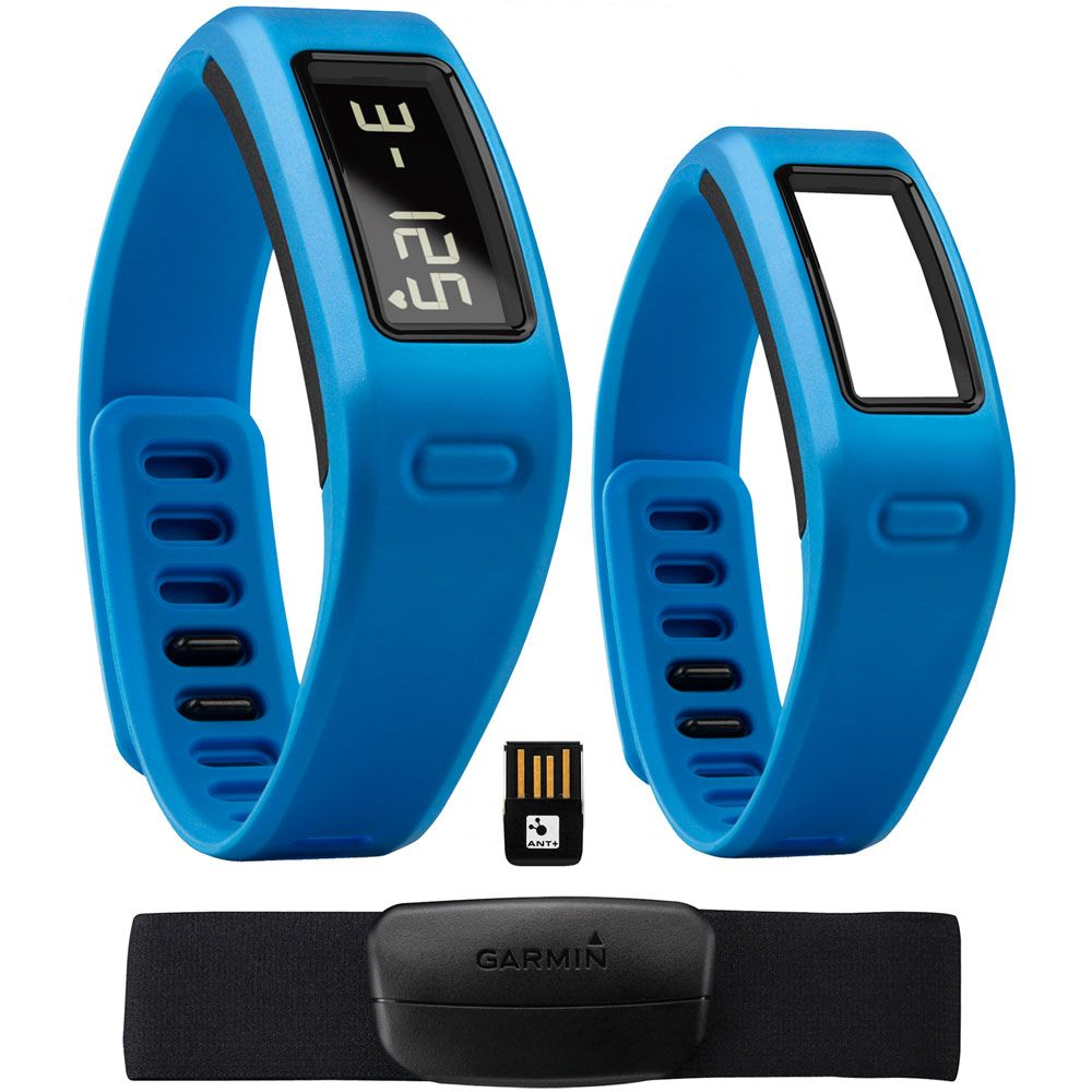 449-217 - Garmin Vivofit Fitness Bracelet w/ Heart Rate Monitor & USB ANT Stick