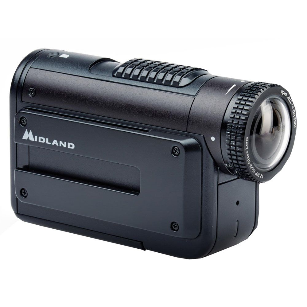 449-227 - Midland™ HD 1080p Action Video Camera w/ Rotating Lens