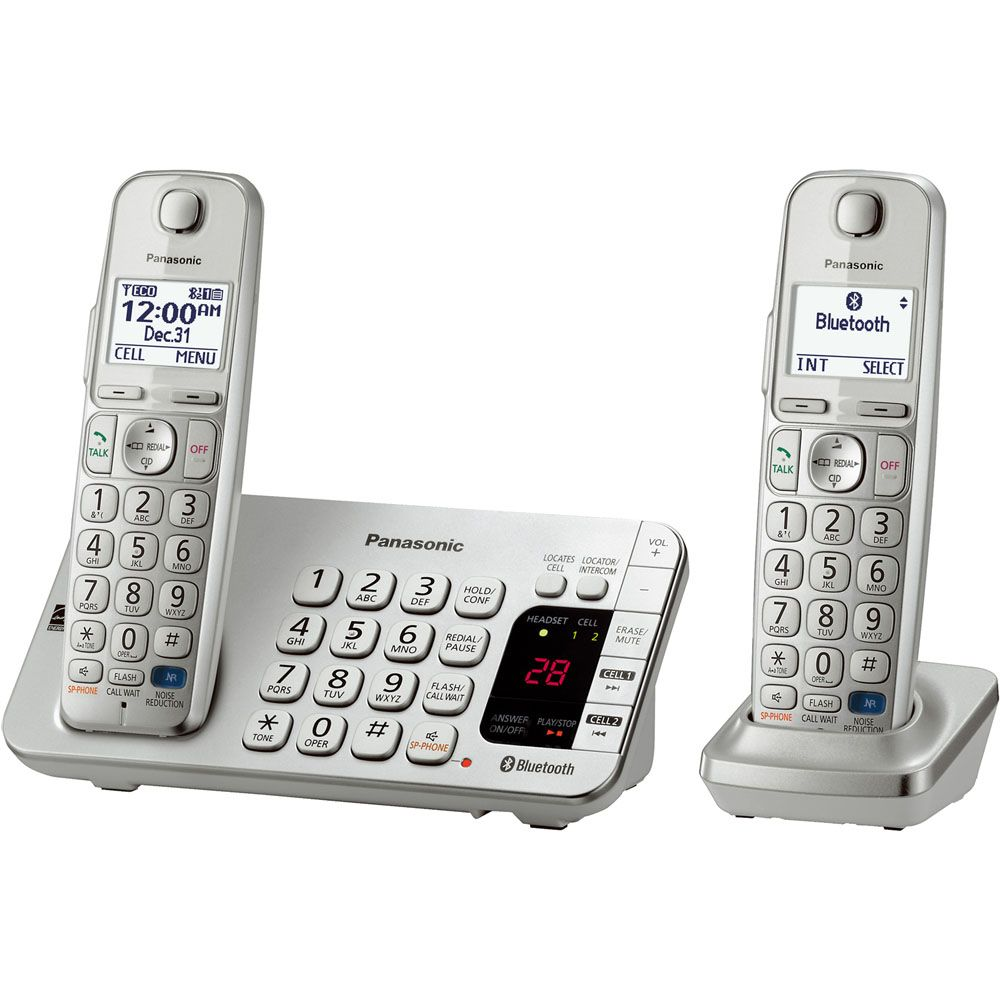 449-248 - Panasonic Link2Cell Bluetooth® Answering System w/ Two, Three, Four or Five Wireless Handsets