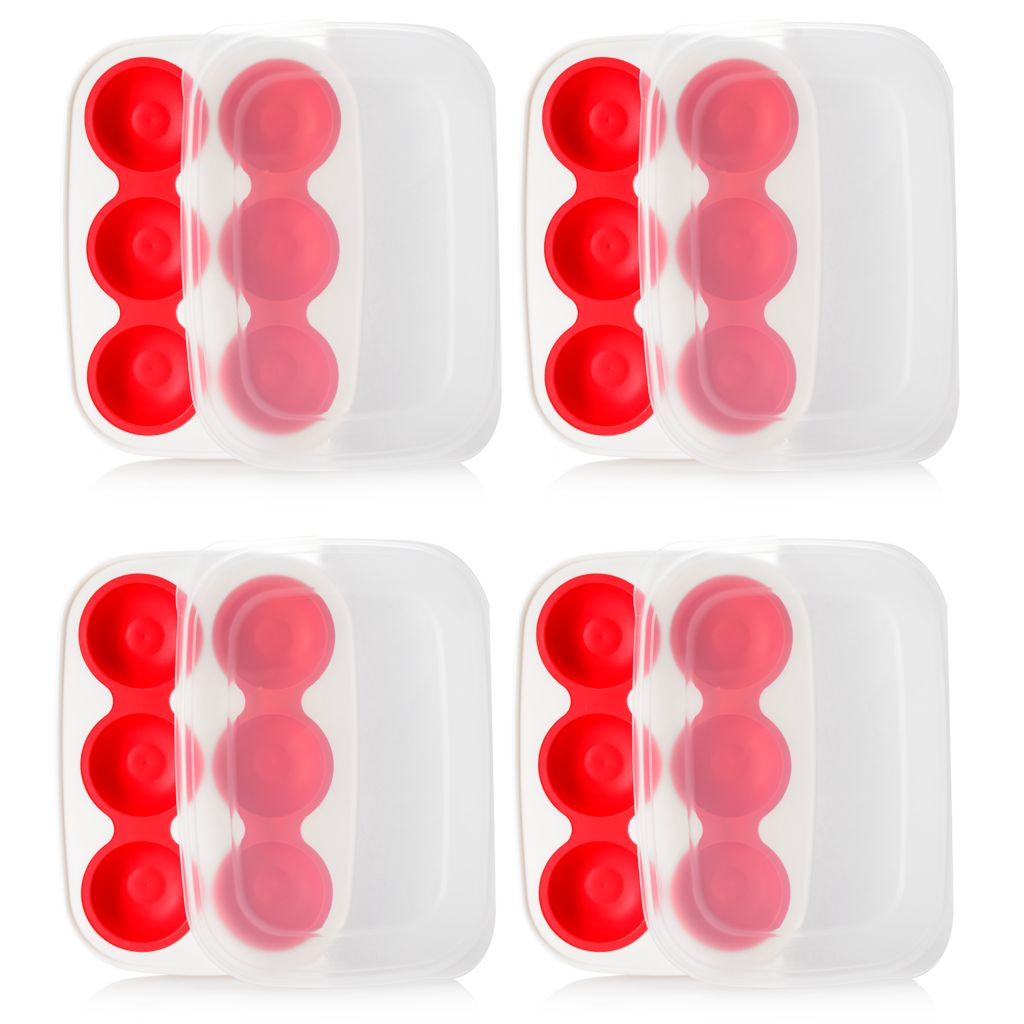449-268 - Progressive® Prep Works® Set of Four Cookie Dough Keeper Trays w/ Lids