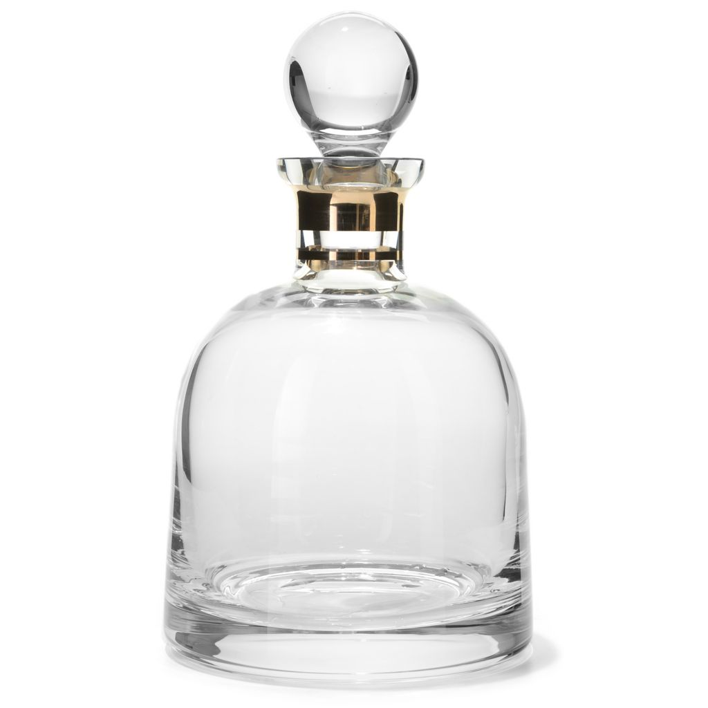 449-277 - Waterford™ Crystal Elegance 36 oz Dome Shaped Decanter w/ Stopper
