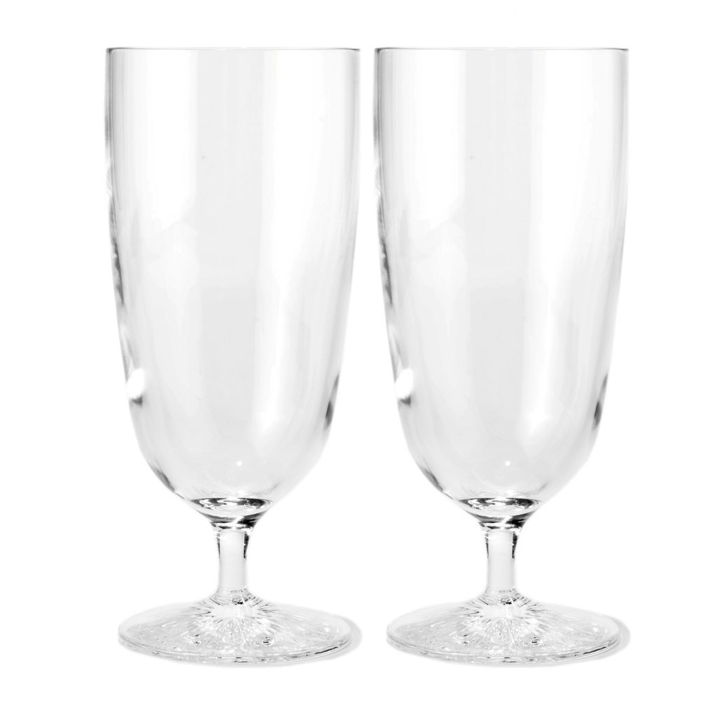 449-282 - Waterford® Crystal Clearly Light Set of Two 16 oz Iced Beverage Glasses