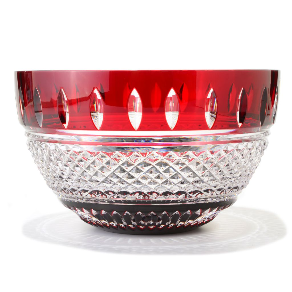 "449-300 - Waterford® Crystal Irish Lace Choice of 9.75"" Bowl or 11.75"" Vase"