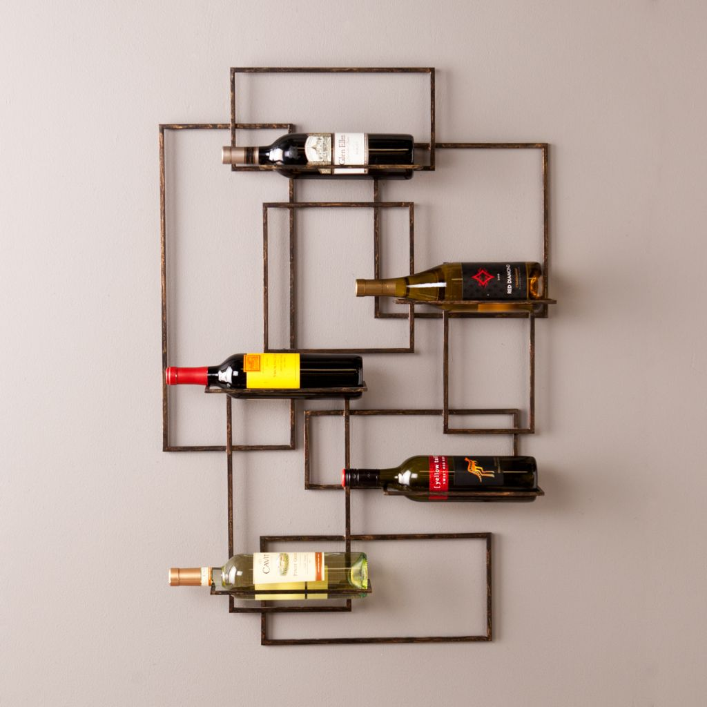 449-421 - NeuBold Home Metal Wine Storage Wall Sculpture