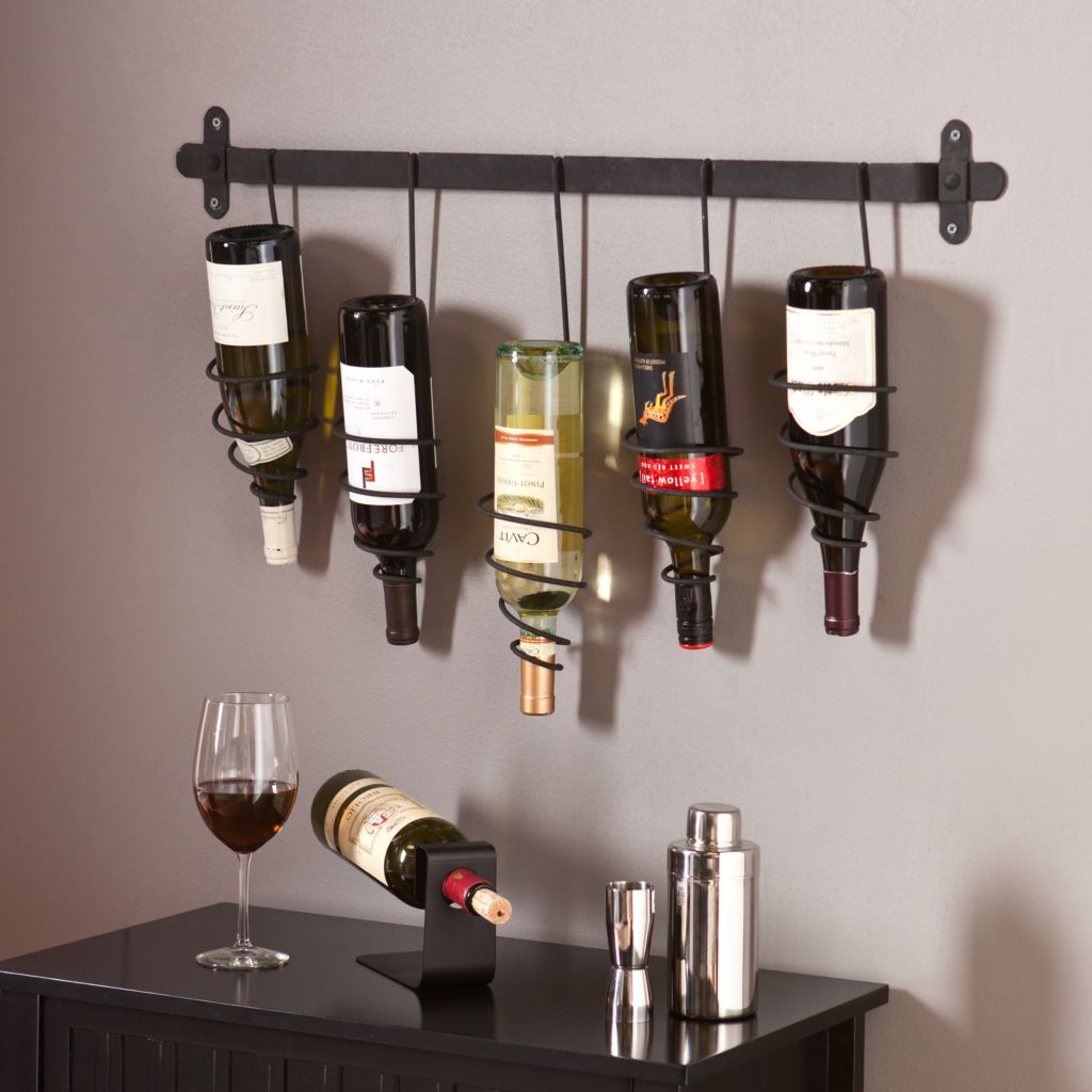 449-424 - NeuBold Home Marcos Metal Wall Mount Wine Rack