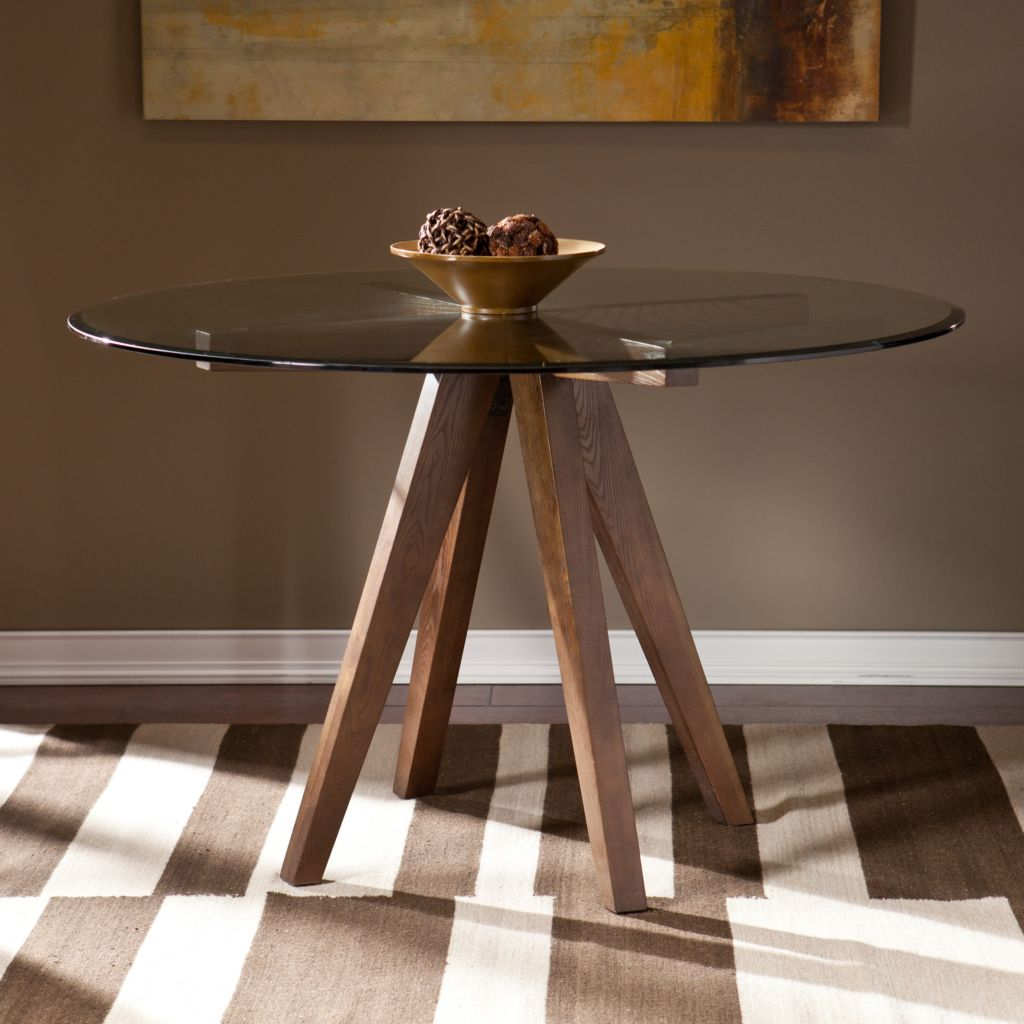 449-428 - NeuBold Home Paola Wood & Glass Dining Table