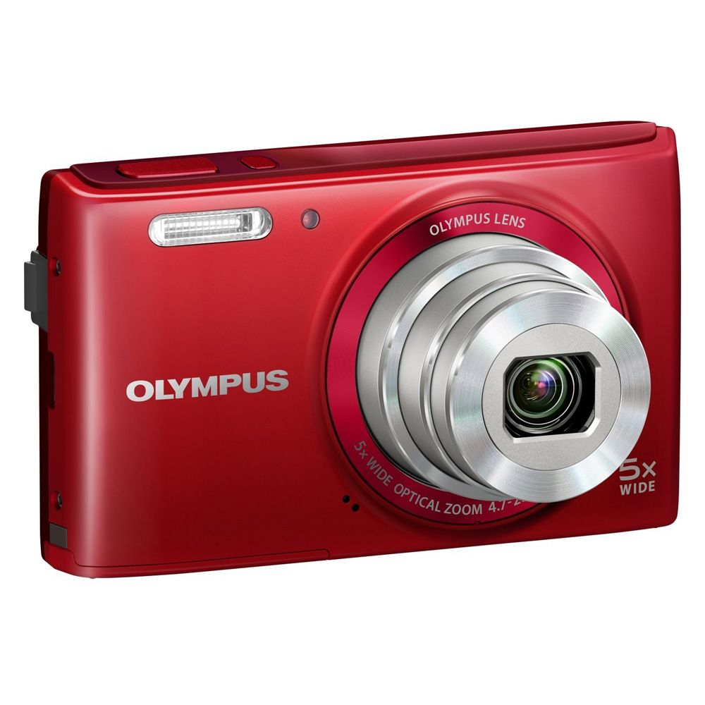 449-455 - Olympus Stylus 16MP Compact Digital Camera w/ 26mm Wide Angle Zoom Lens
