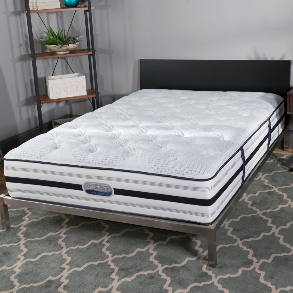 "449-483 - Simmons® Beautyrest® Recharge® ""Romeo"" Tight Top Plush Mattress ONLY"