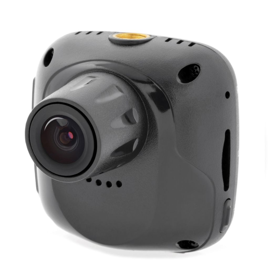 449-498 - Cobra® 1080p HD Continuous Loop Ultra-Compact Day/Night Dash Cam & 8GB MicroSD Card