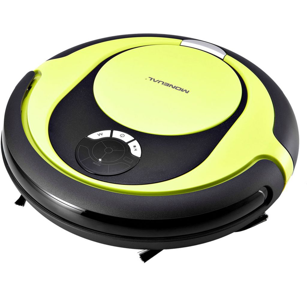 449-740 - Moneual Hybrid Robot Vacuum w/ Dry Mop, Six Cleaning Modes & Room Indicator