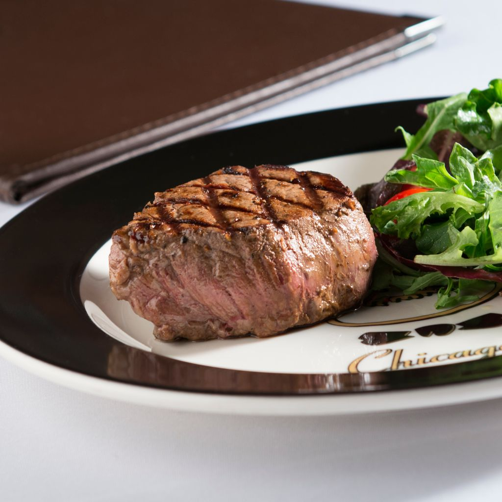 449-834 - Ditka's Choice of 6 oz or 8 oz Center Cut Filet Mignon Set