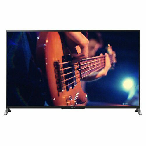 "449-898 - Sony 50"" Bravia W800B Premium 1080p 120Hz 3D LED Smart HDTV w/ HDMI Cable, Software & 3D Glasses"