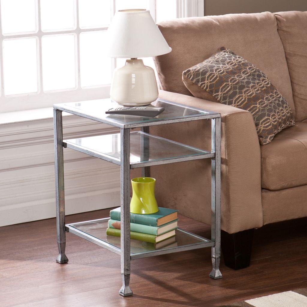 449-979 - NeuBold Home Metal & Glass End Table