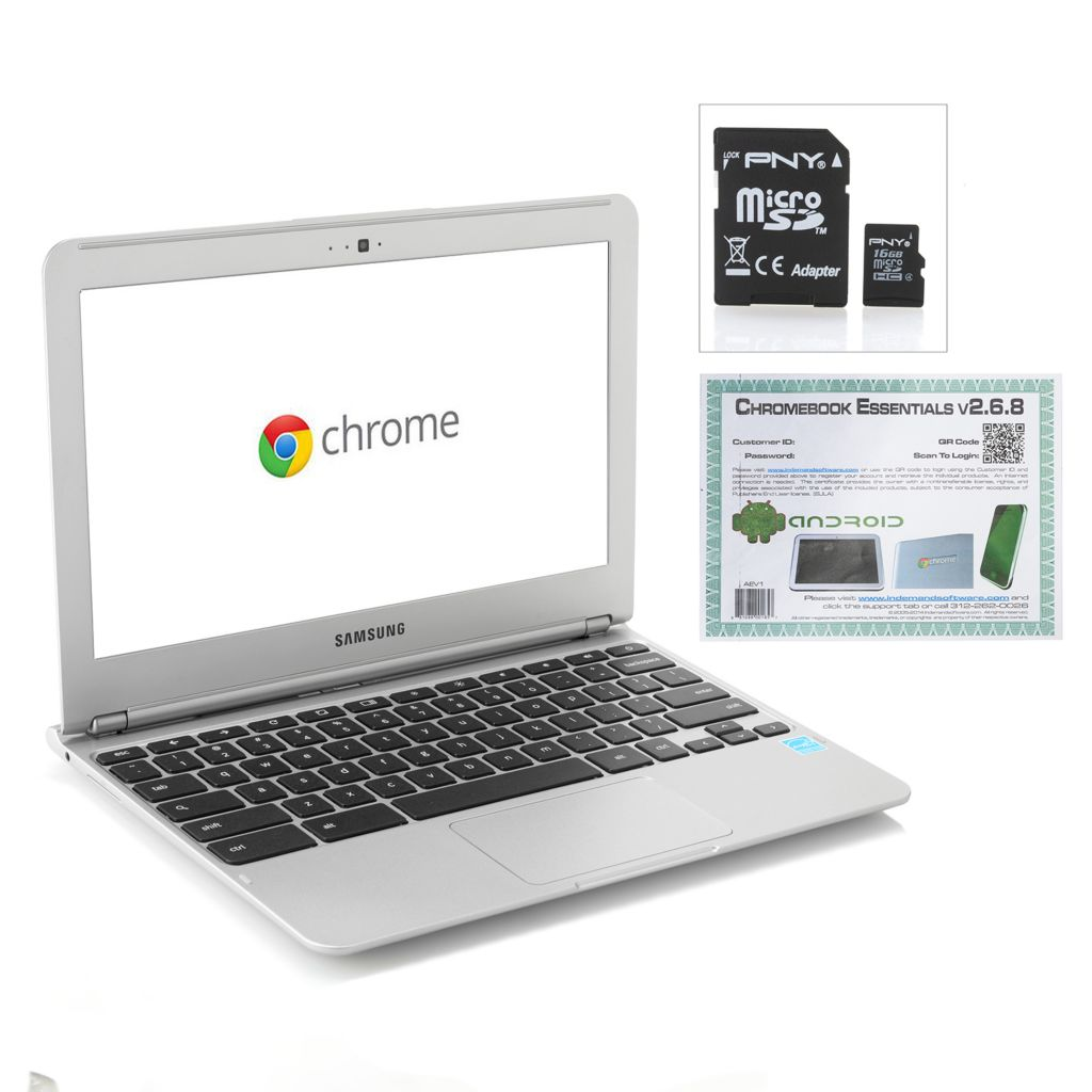 "450-010 - Samsung 11.6"" LED Dual 1.7GHz 32GB Total Storage Google Chromebook w/ Software"