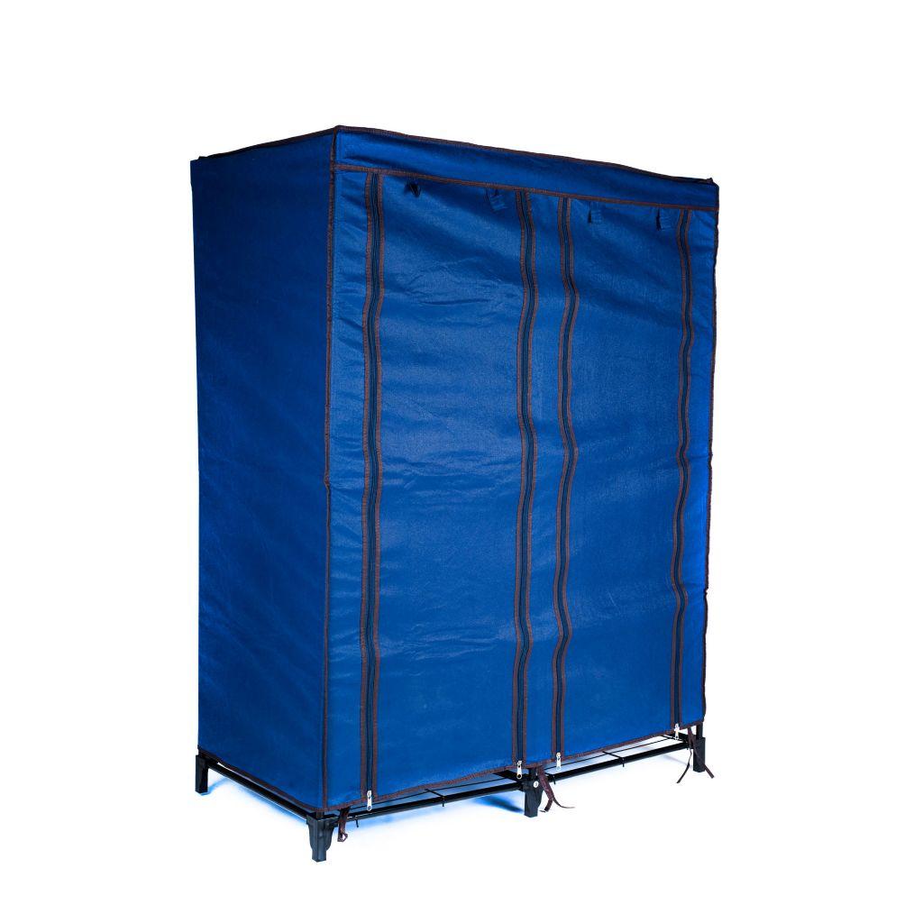 """450-022 - Trademark Home 49"""" Canvas Portable Four-Shelf Closet"""