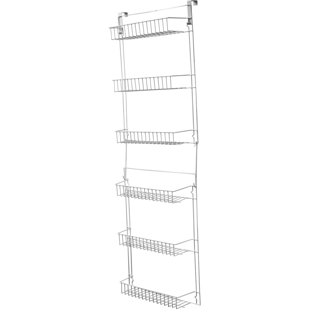 450-031 - Over-the-Door 5' Hanging Storage Basket Rack