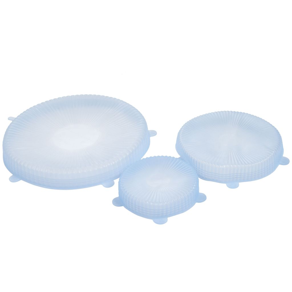 450-032 - Chef Buddy Set of Three Universal Reusable Silicone Food Covers