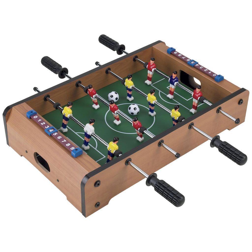 450-035 - Trademark Games Mini Table Top Air Hockey, Foosball or Pool Game