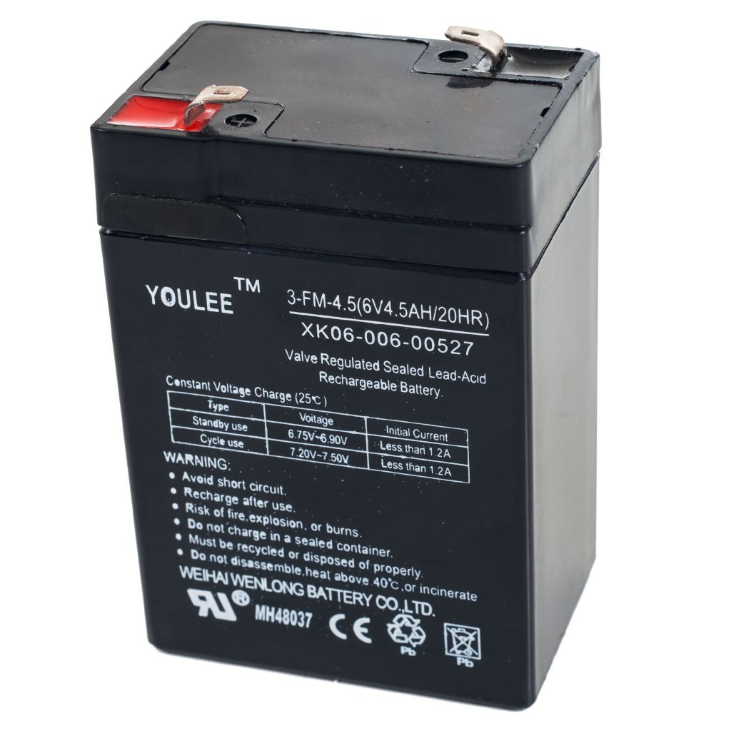 450-036 - Lil' Rider 6 Volt Rechargeable Battery