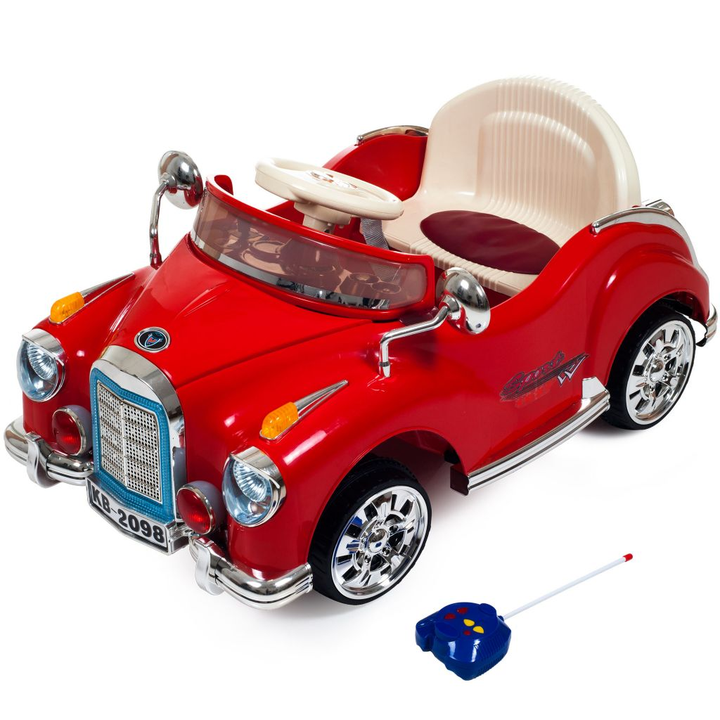 450-037 - Lil' Rider Cruisin' Coupe Battery Operated Classic Car w/ Remote