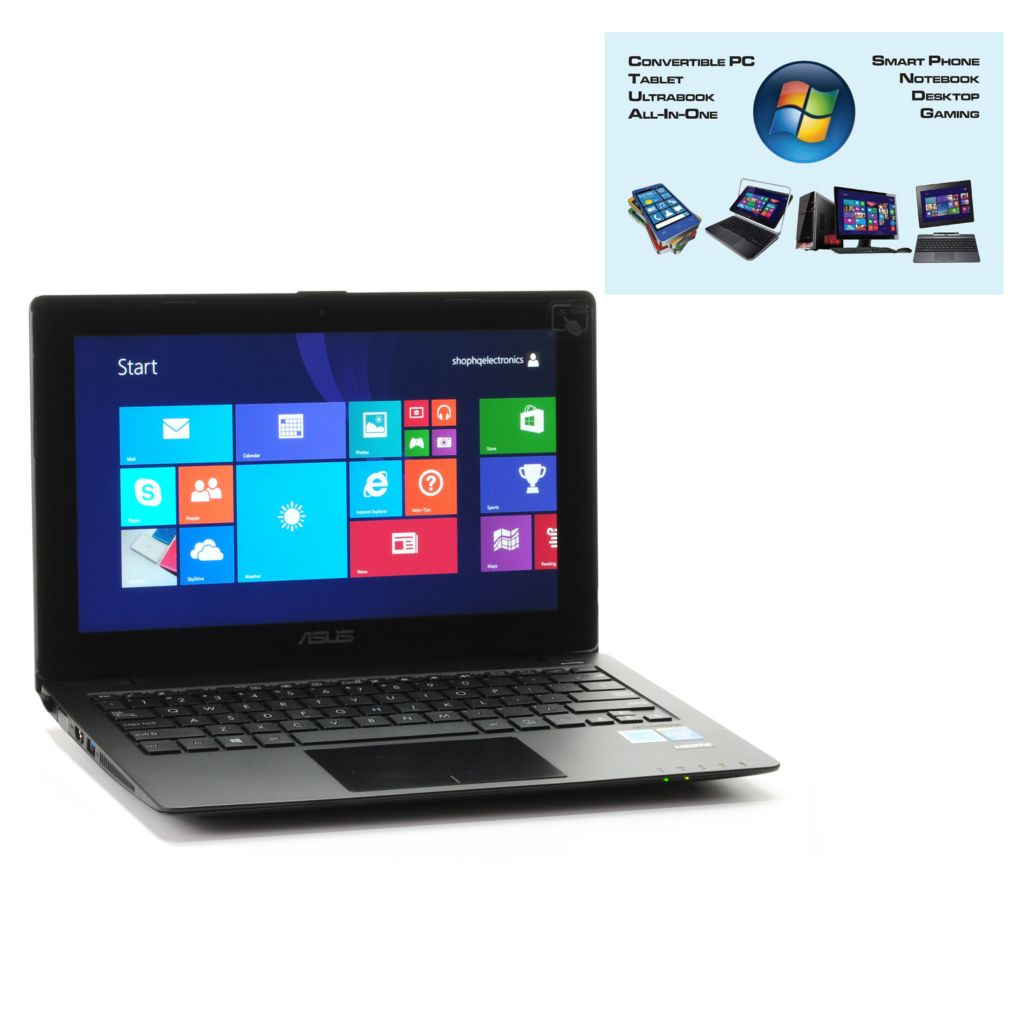 "450-048 - ASUS 11.6"" Touch Screen Dual-Core 4GB RAM/500GB HDD Windows 8 Notebook w/ Software"