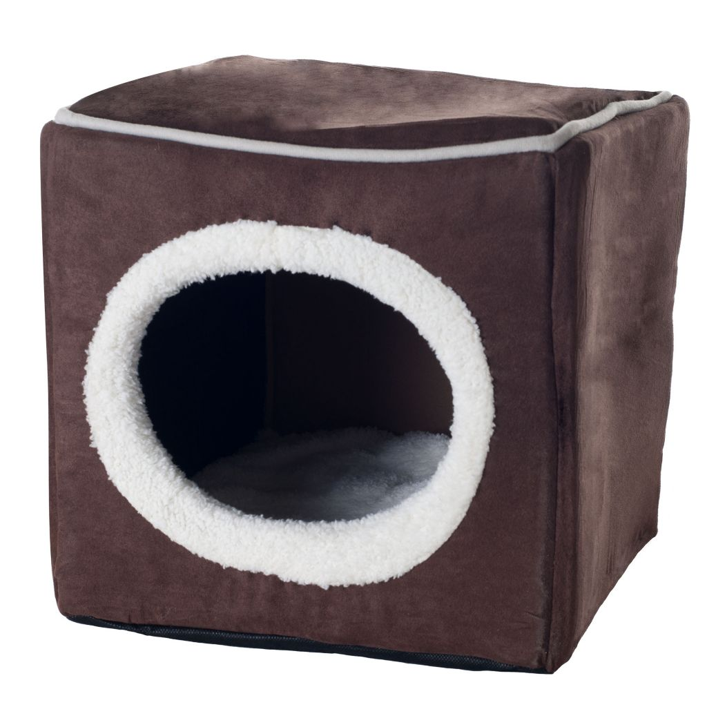 450-074 - PAW Cozy Cave Enclosed Cube Pet Bed