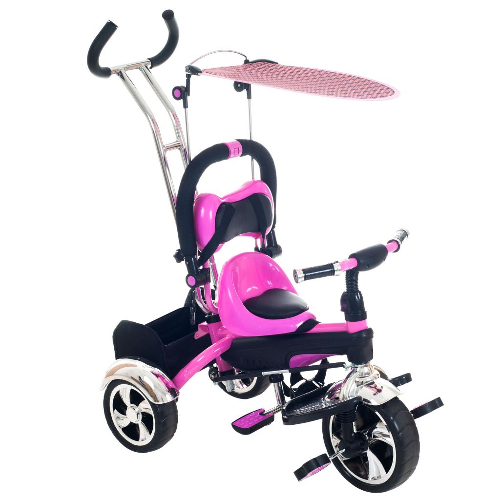 450-075 - Lil' Rider 2-in-1 Convertible Stroller Tricycle