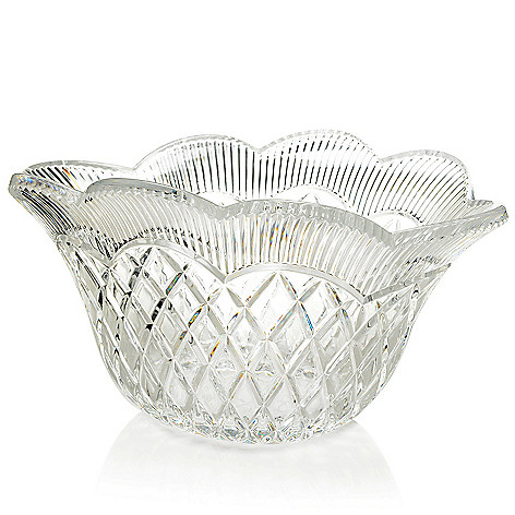 450-103 - Marquis by Waterford Basket Weave 11'' Vase or 11.5'' Oval Bowl