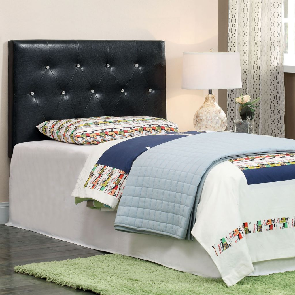 "450-116 - Furniture of America™ ""Villa"" Leatherette Headboard"